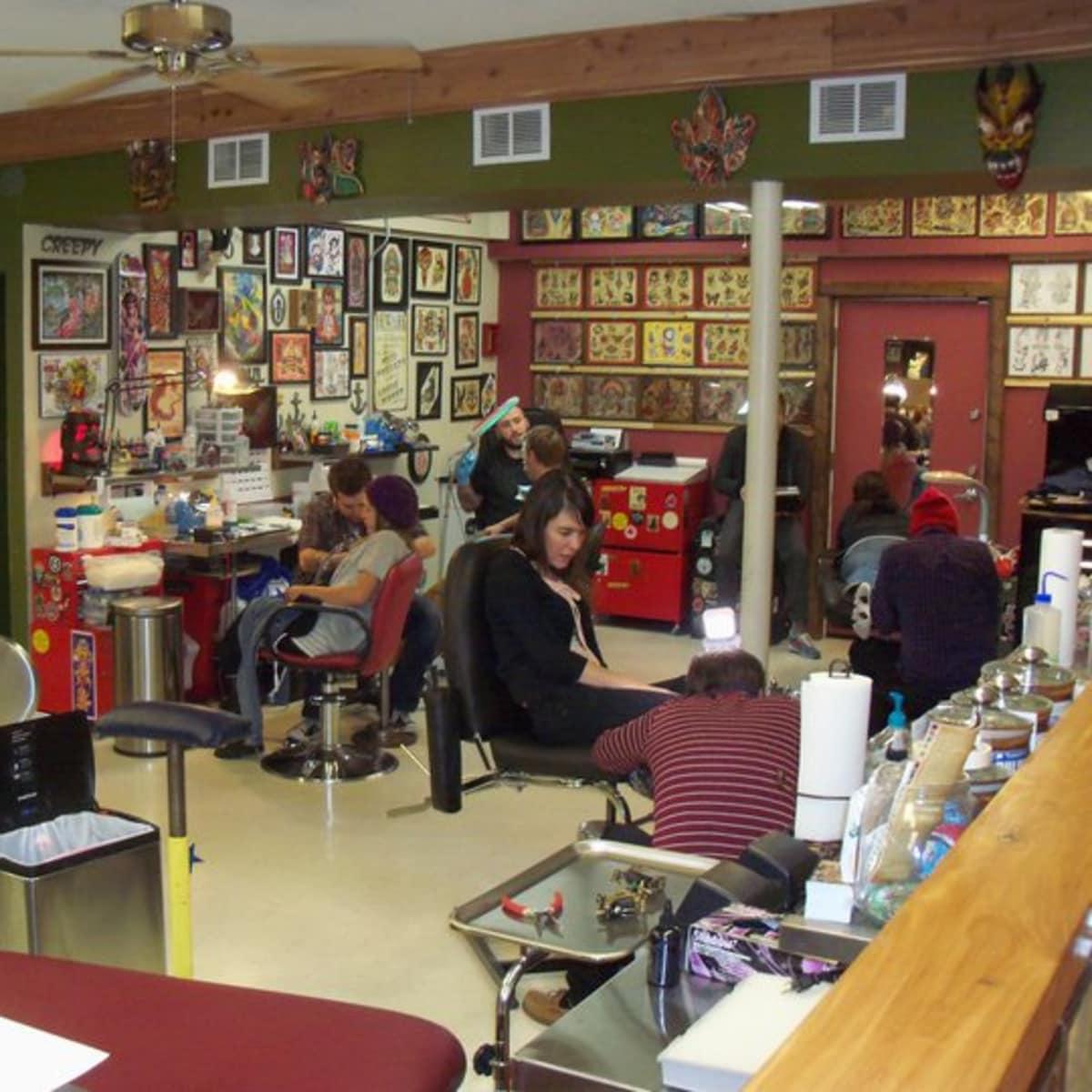 Austin_photo: places_shopping_amillion tattoo_interior