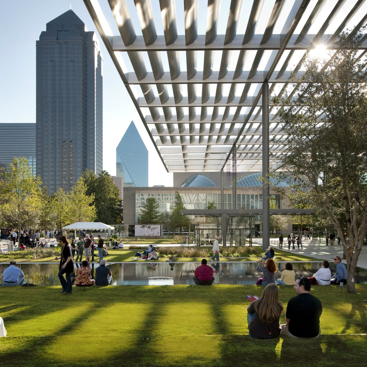 Sammons Park in Dallas