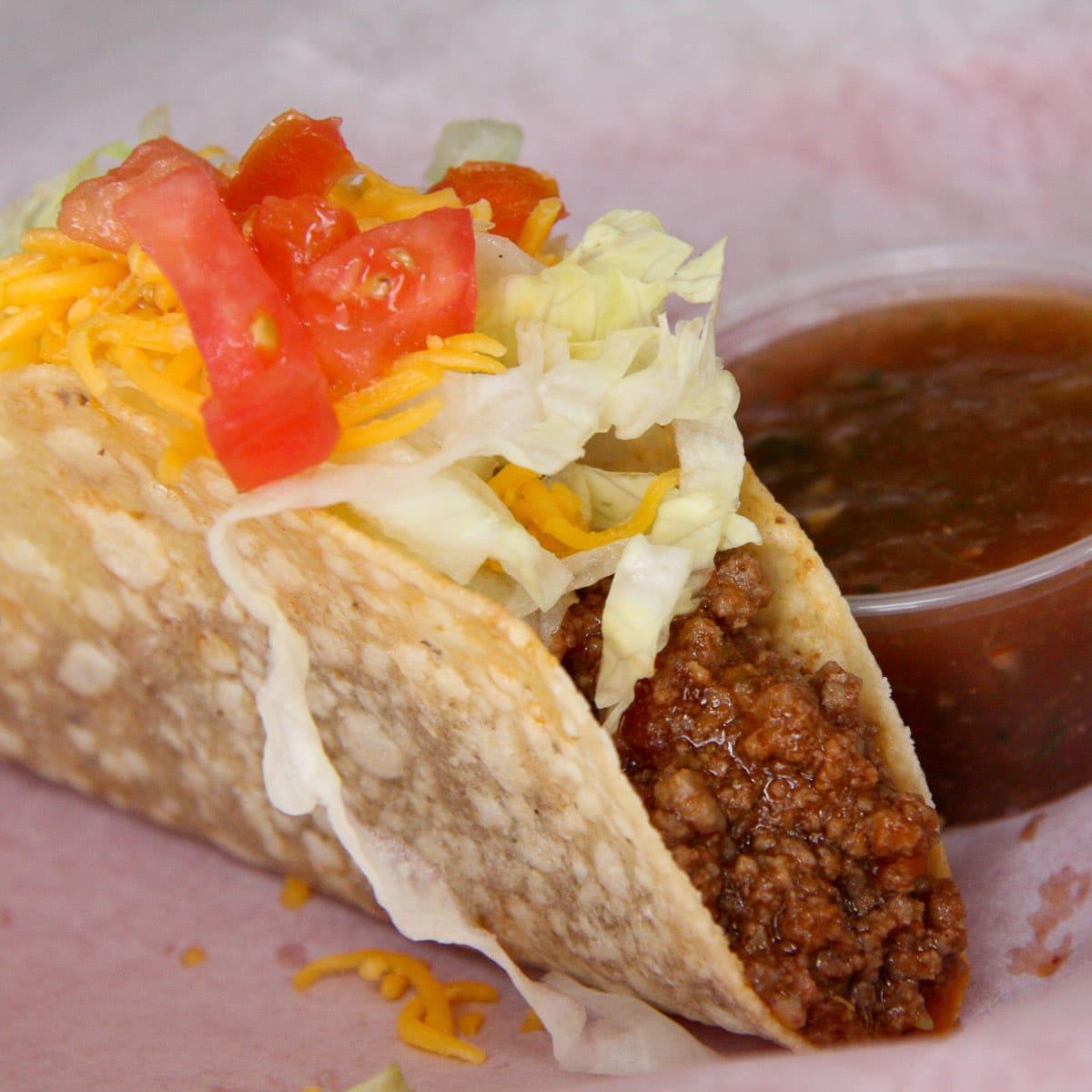 Skeeter's Mesquite Grill crispy taco