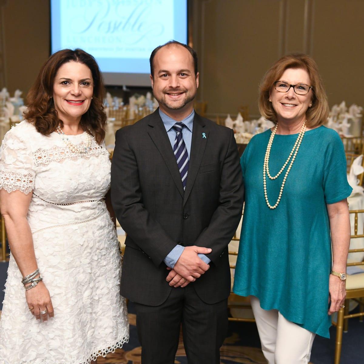 Sonja Massak, Dr. Tyler Hillman and Cindy Winton/JudysMission
