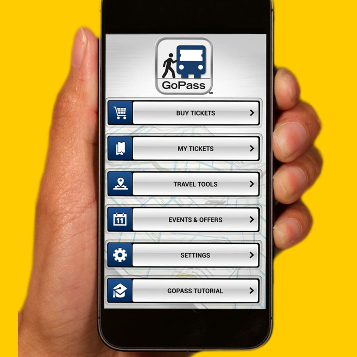 DART GoPass mobile ticketing app