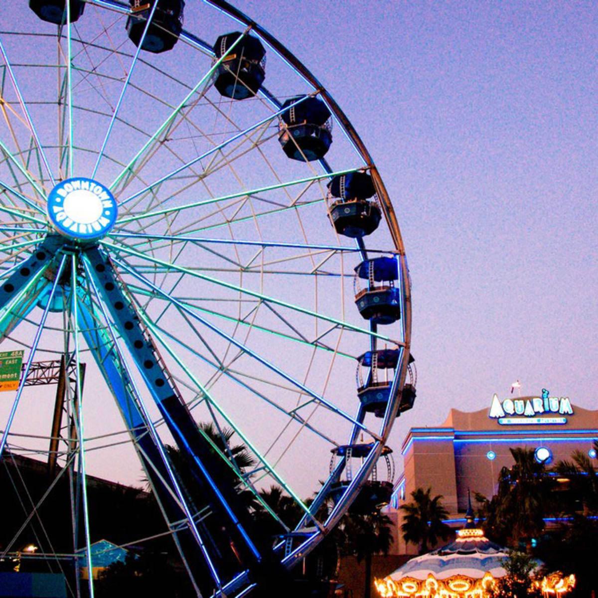 Places-Unique-Downtown Aquarium-Ferris Wheel-1