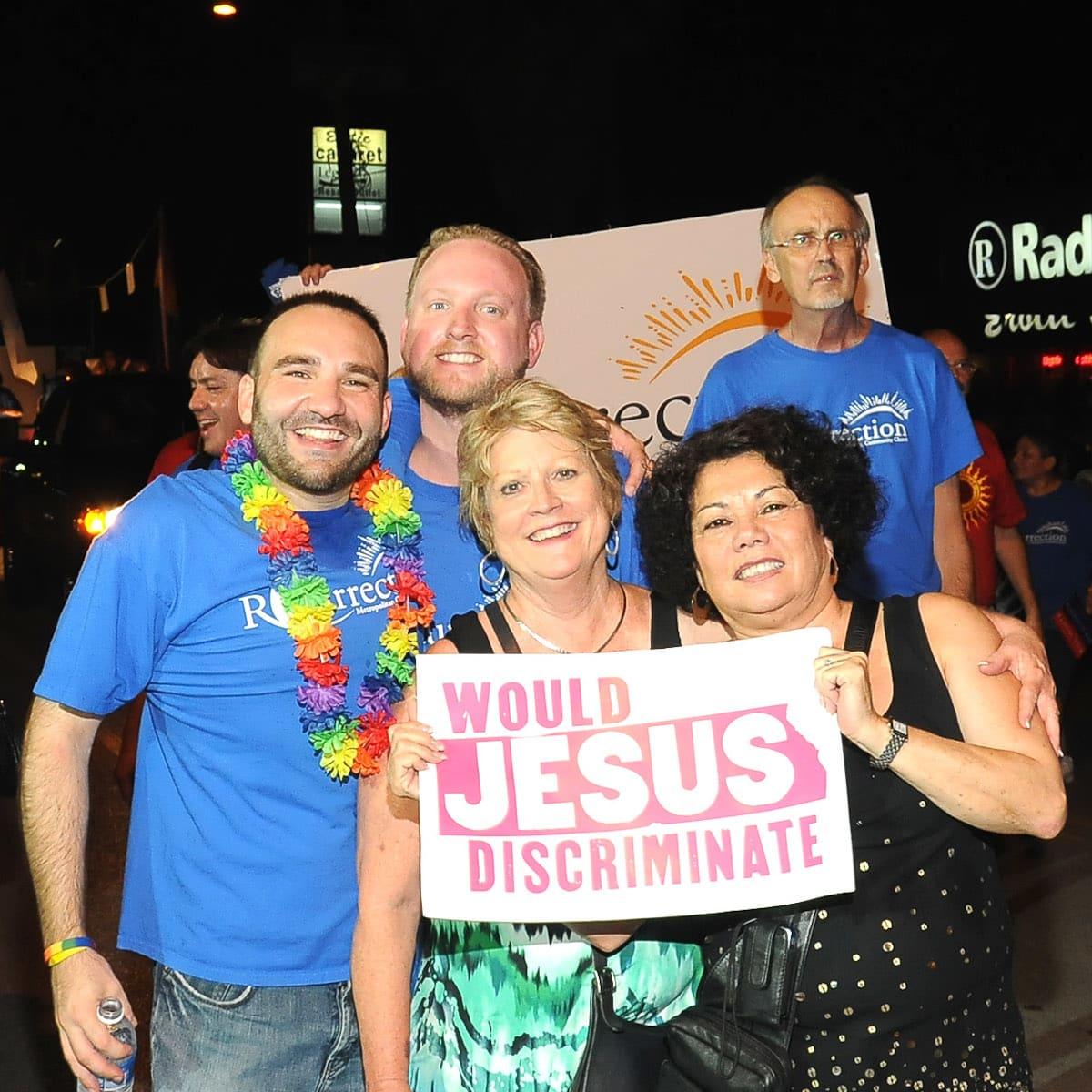 News_Gay Pride Parade_would Jesus discriminate