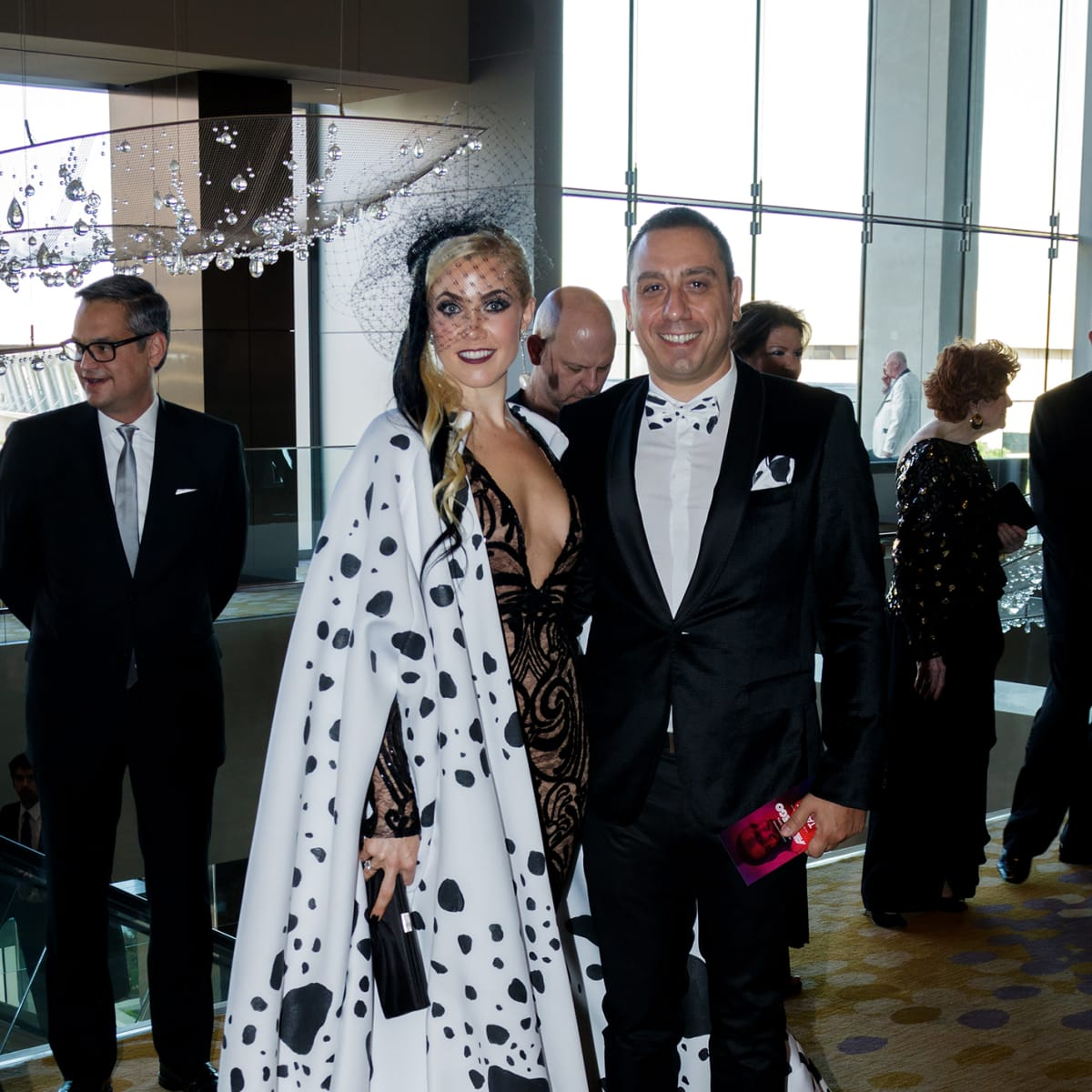 Norah Meier, Steven Maroulis at House of DIFFA 2018