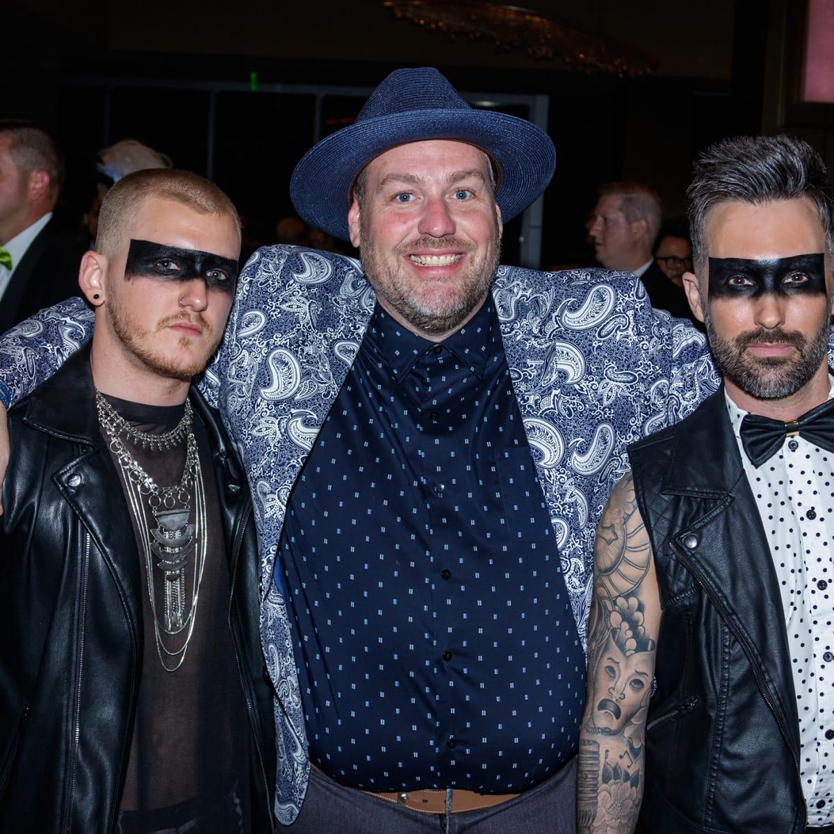David Chadd, Brian Kennedy, Brad Pritchett at House of DIFFA 2018
