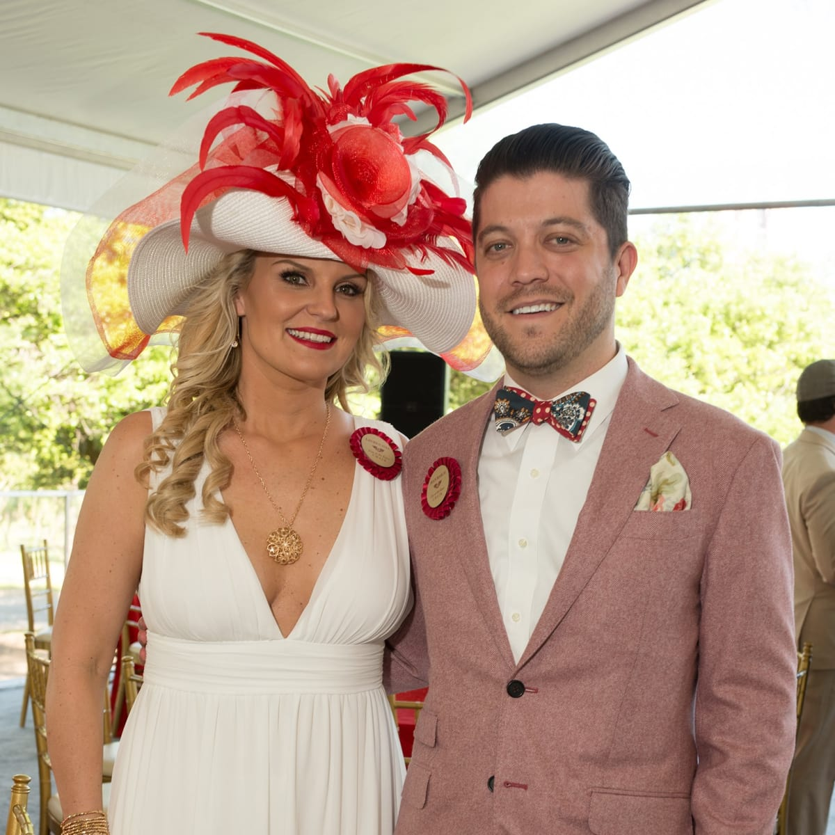 Day at the Races 2018, Lauren Ives and Sean March
