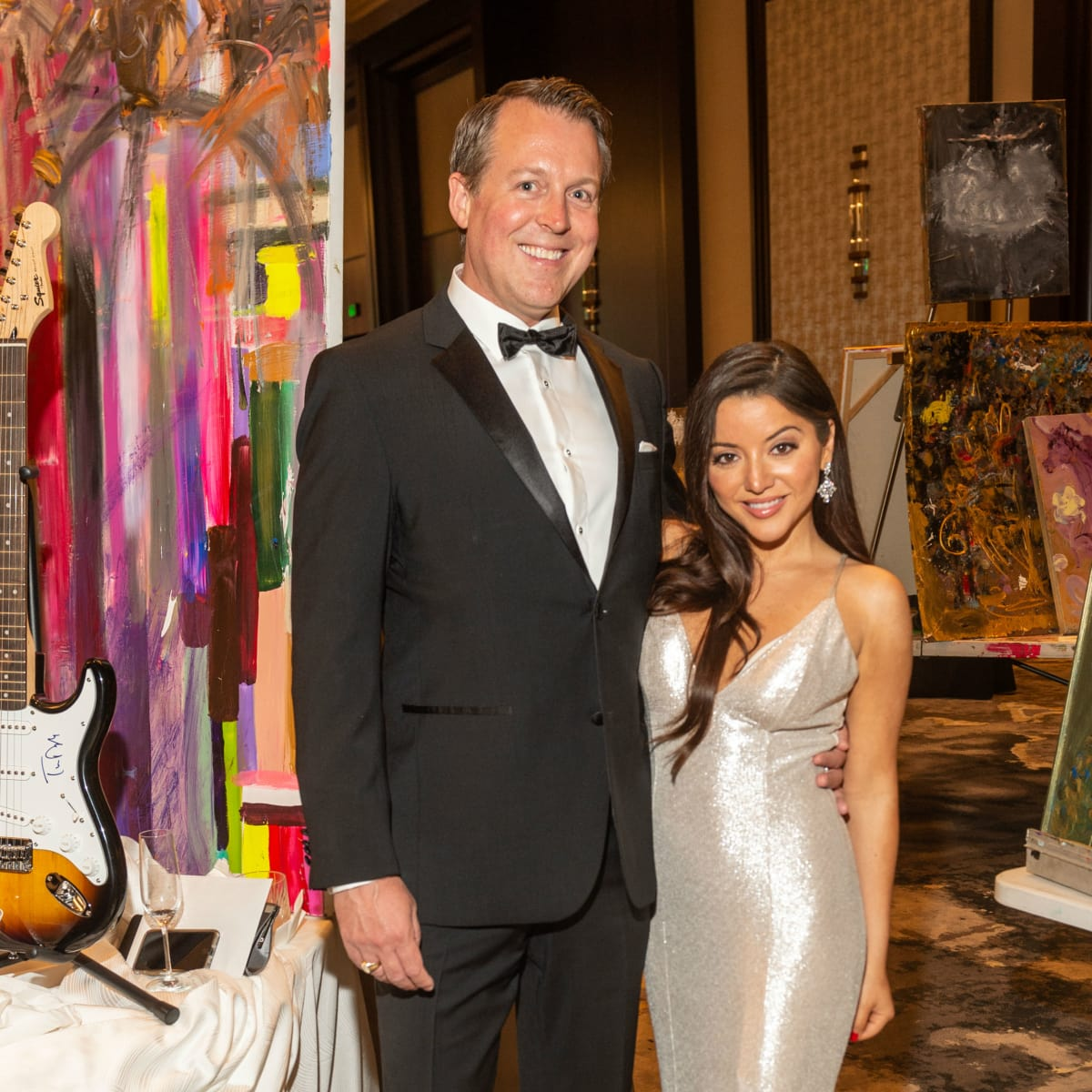 Virtuoso of Houston Gala Sean Buckley Gloria Cazarez