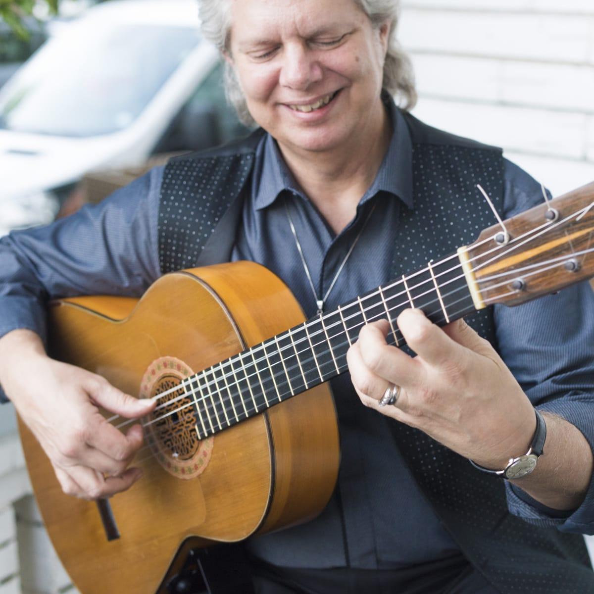 Guitarist Miguel Antonio
