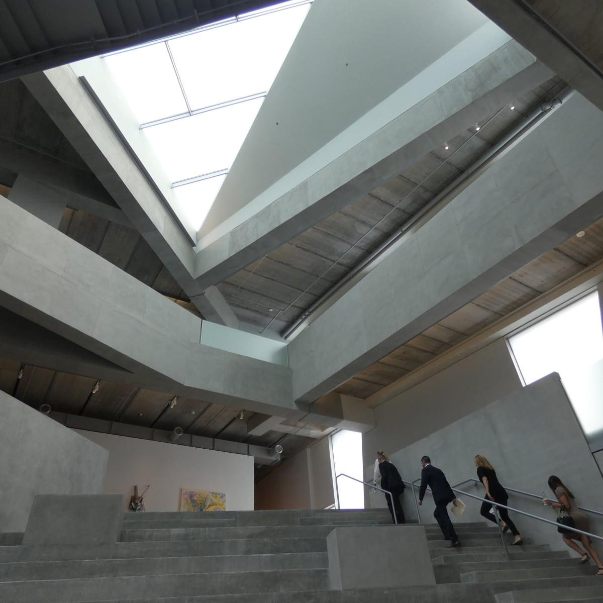 Glassell School central stairway