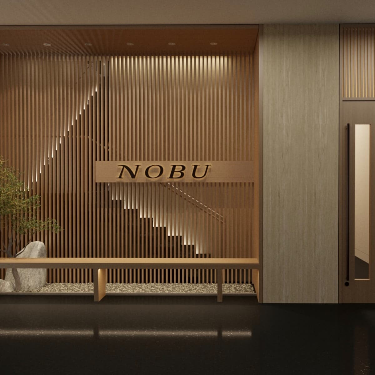 Nobu Houston Entrance