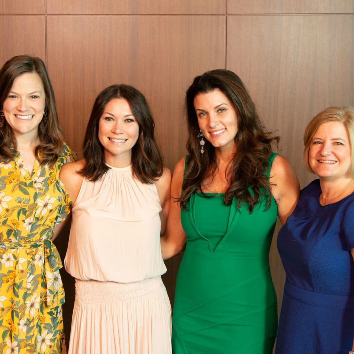 Houston CanCare Survivors Luncheon Jennifer  Doherty,  Megan  Vondra,  Jordan Seff Cristina  Vetrano