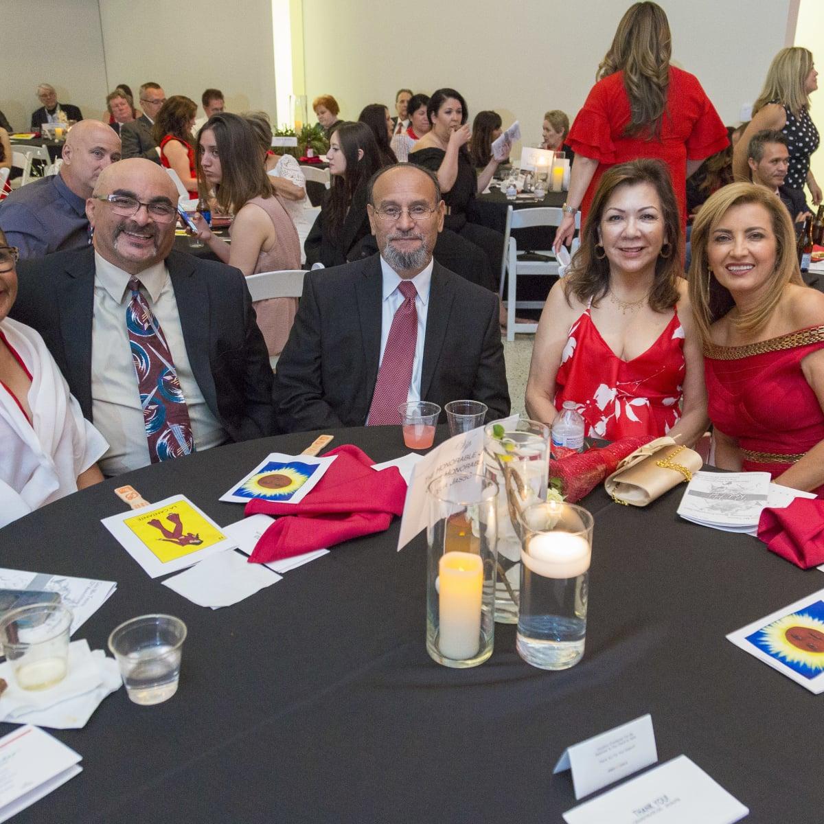 Sylvia Lagos, Al Lagos, The Honorable Judge Jasso, Delia Jasso, The Honorable Elba Garcia