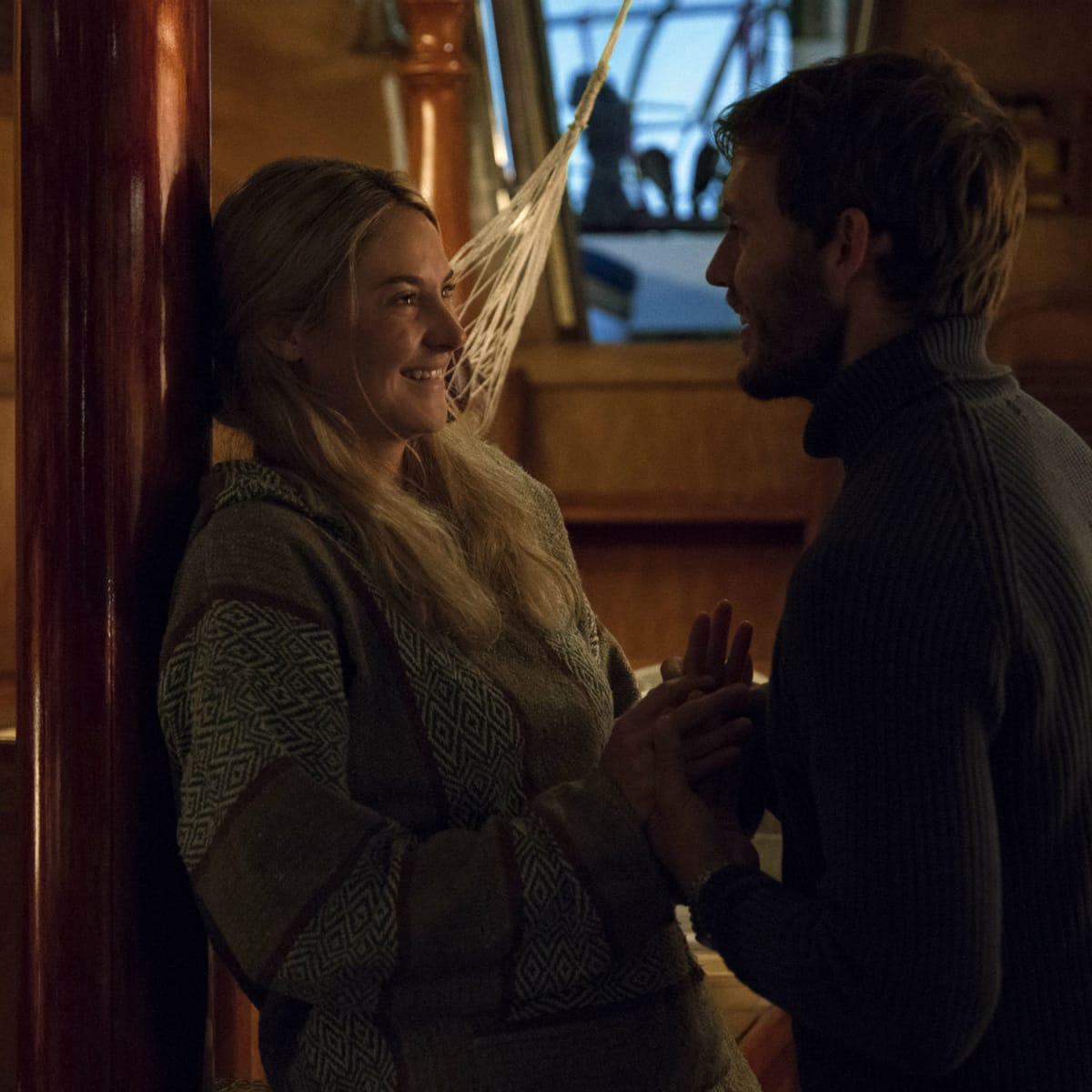 Shailene Woodley and Sam Claflin in Adrift