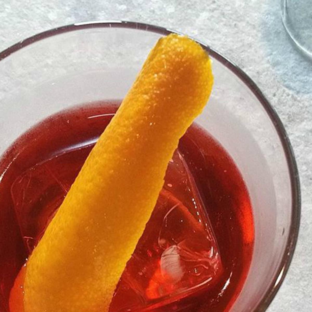 Juniper Negroni Week cocktail