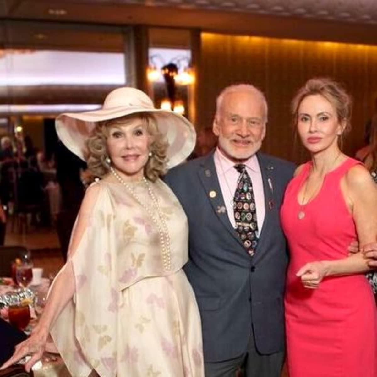 Great Age Jazz Luncheon JoAnne King Herring Buzz Aldrin Anka Faur