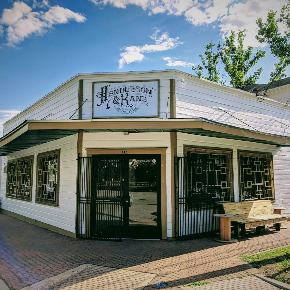 Henderson & Kane store front Veronica John Avila