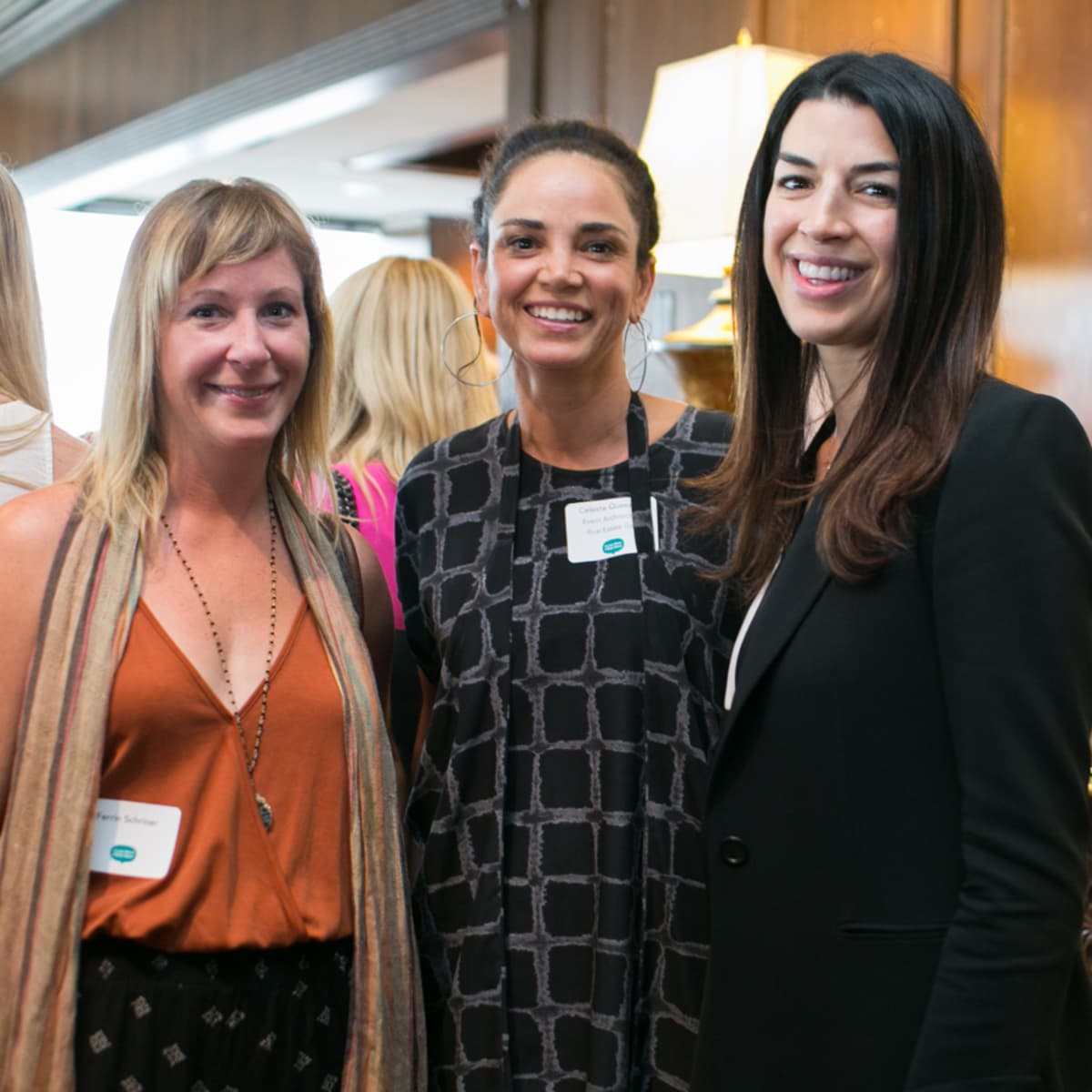 Ferrin Schriner, Celeste Quesada, and Marisa Secco