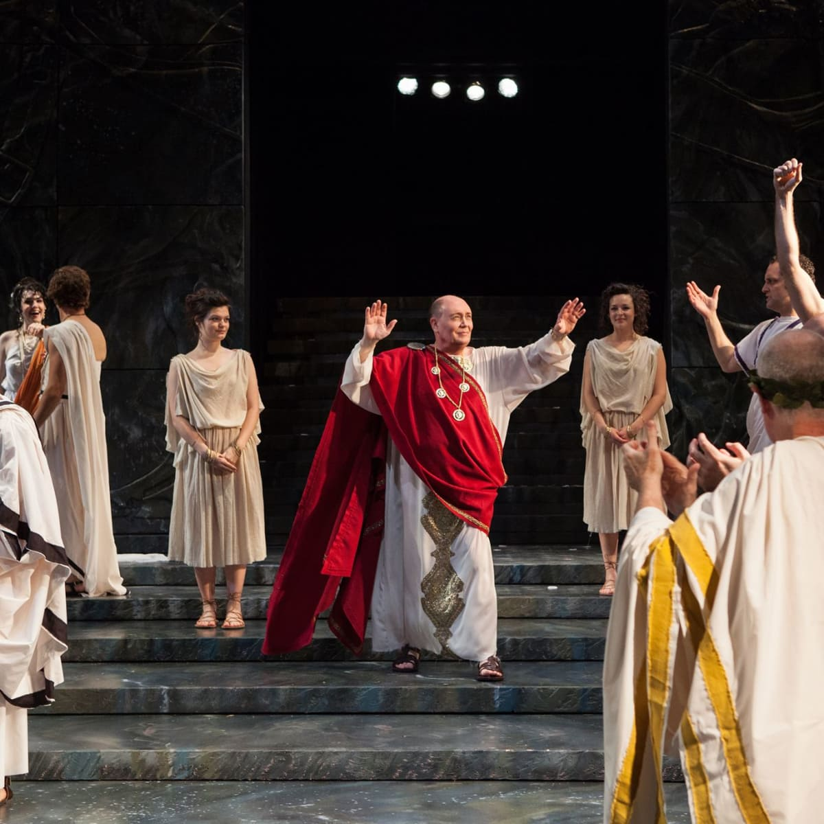 Julius Caesar at Trinity Shakespeare Festival