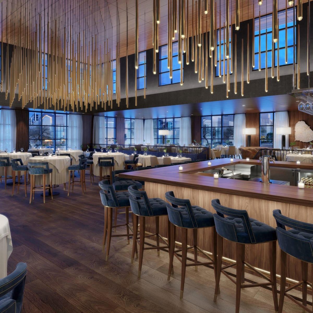 Ocean 48 bar rendering