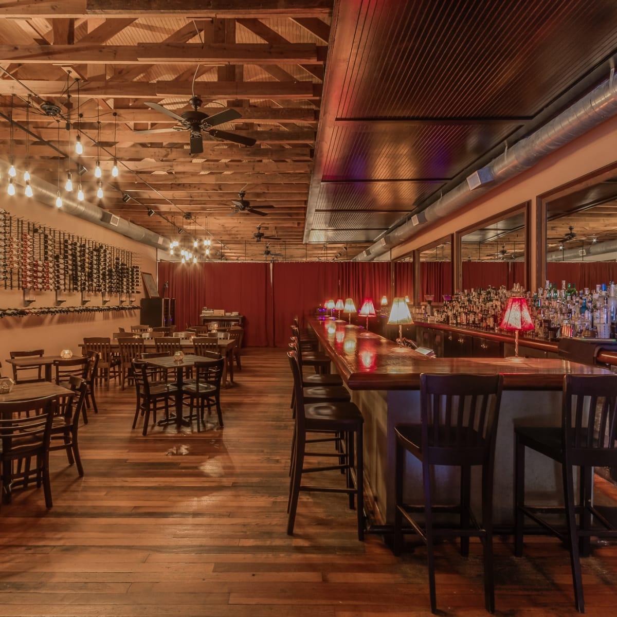 Vino Vino Austin front dining room