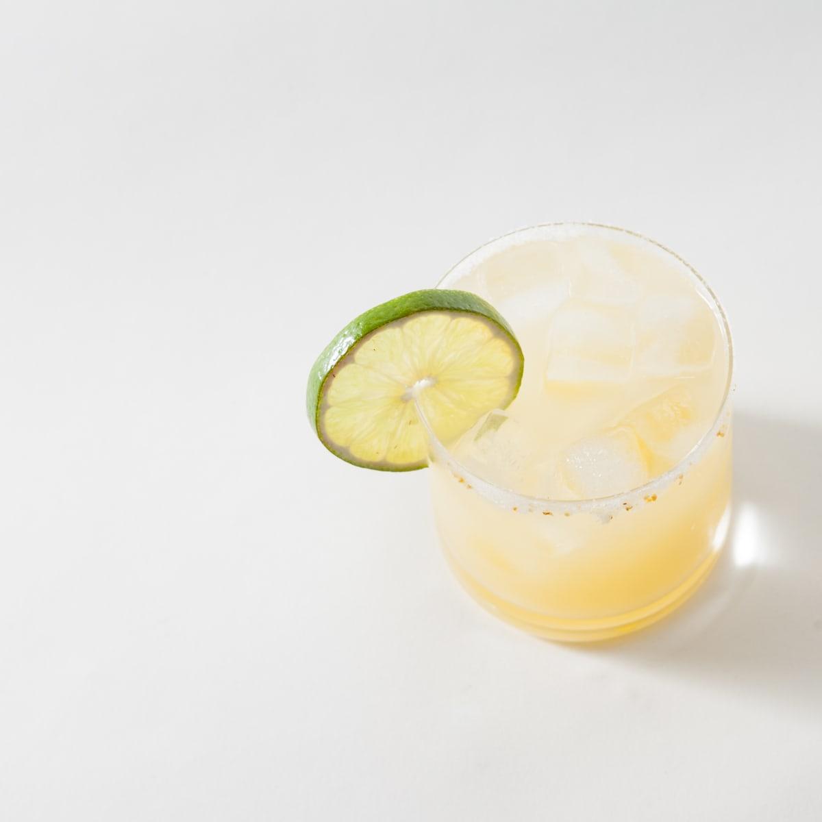 Ghost Margarita cocktail