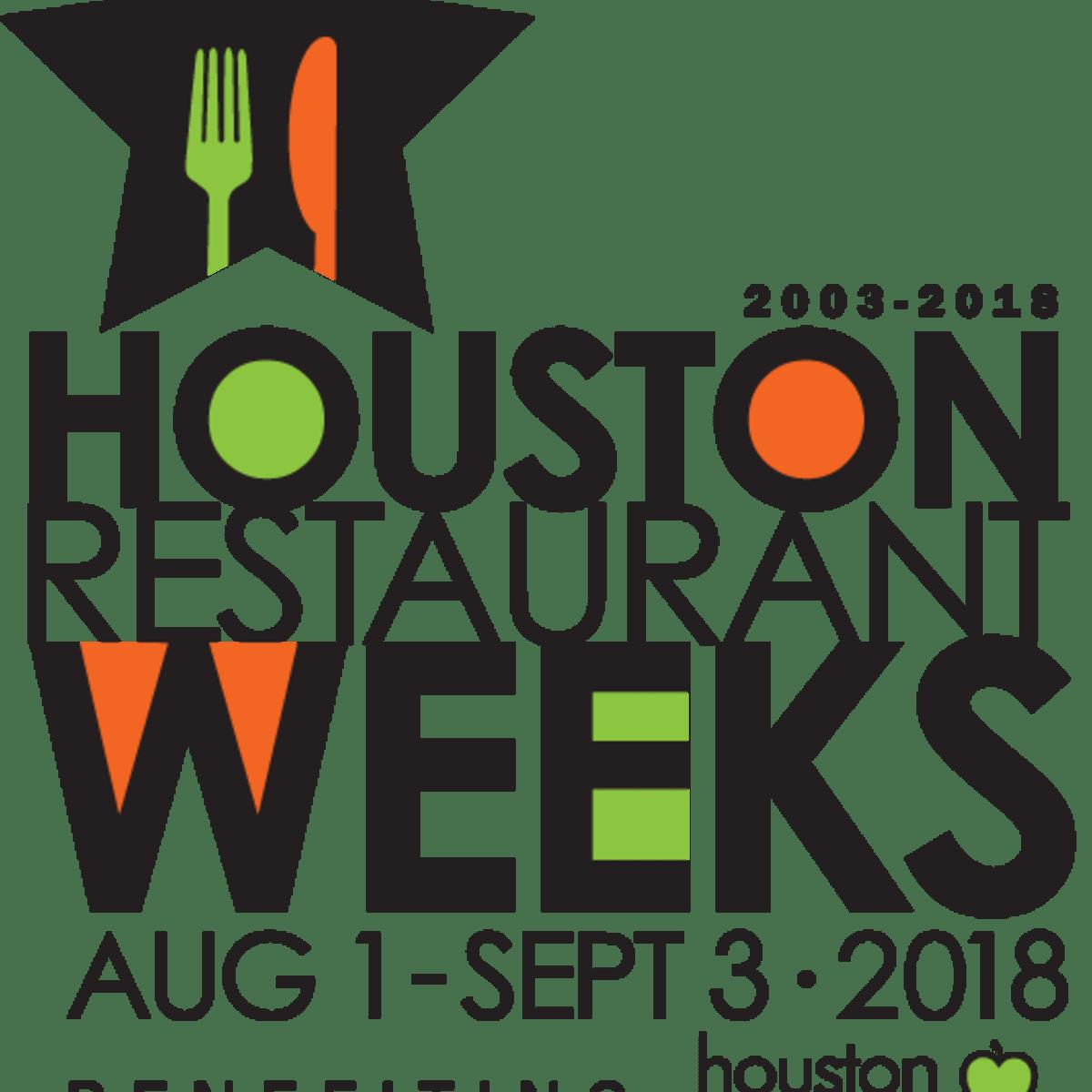 Houston Restaurant Weeks logo 2018