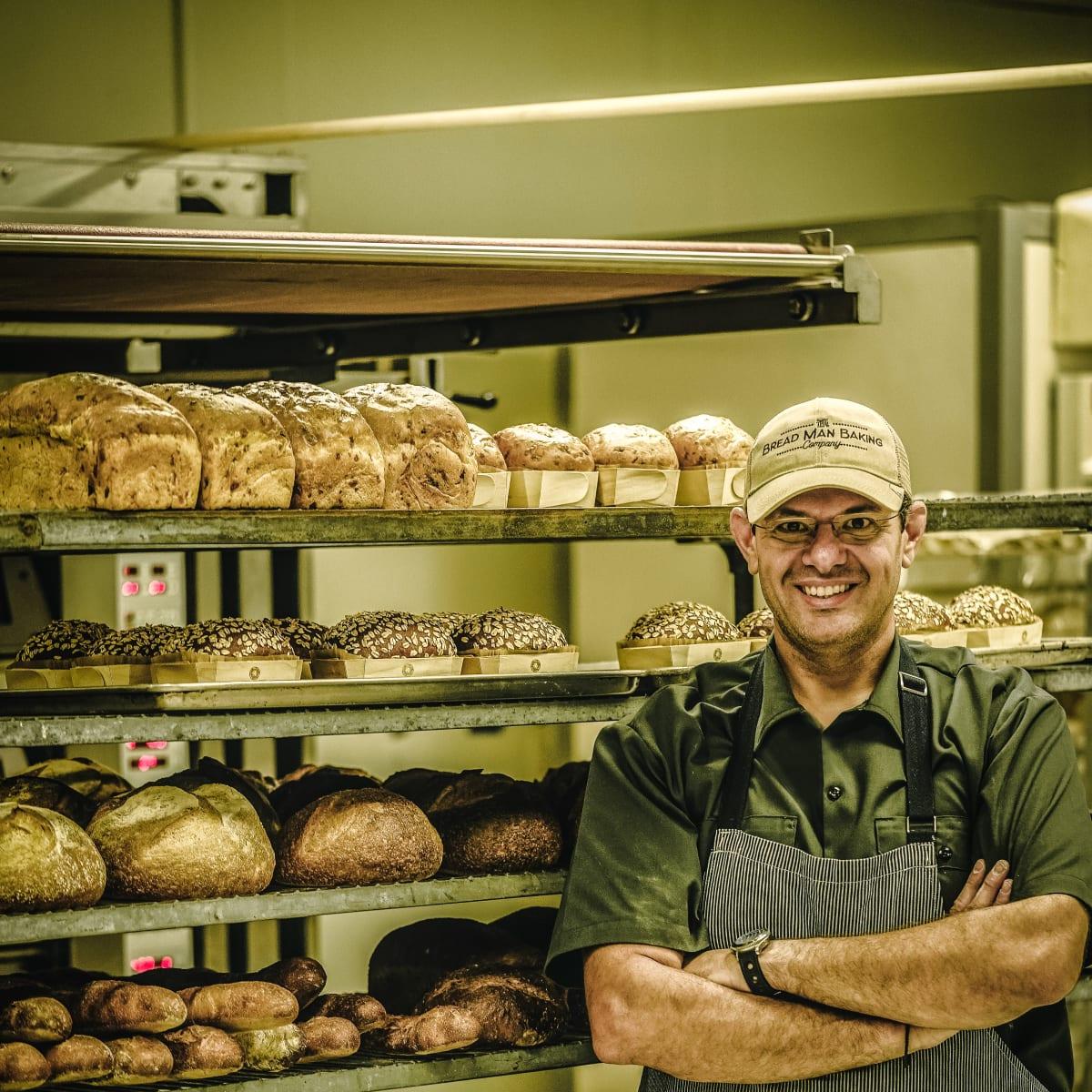 Tasos Katsaounis Bread Man Baking Company