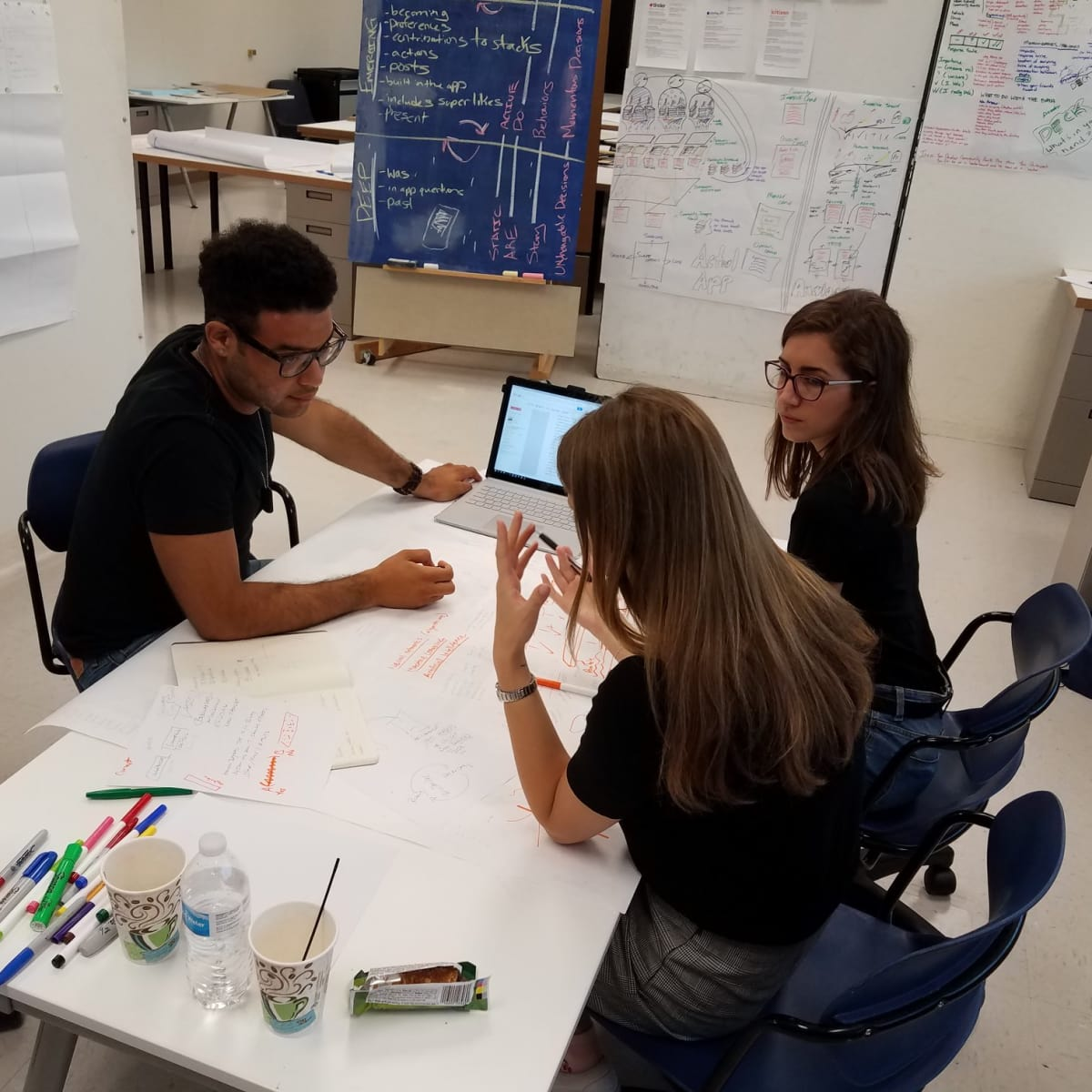 UTSA students working Urban Future Lab