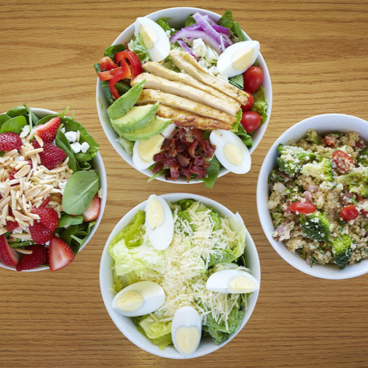 salads, Start restaurant