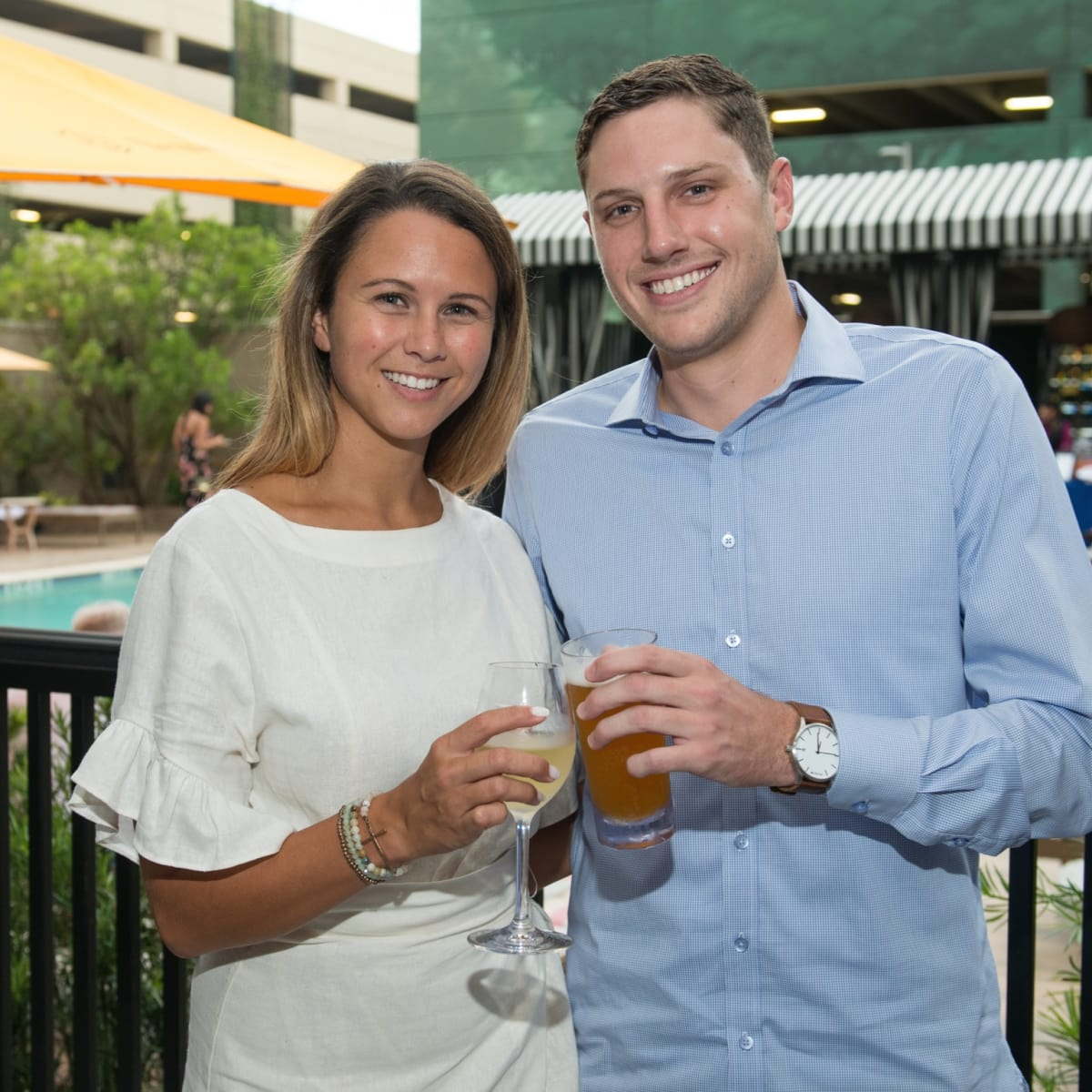 ZaZa Cocktail Showdown Lauren Casey, Jack Merino