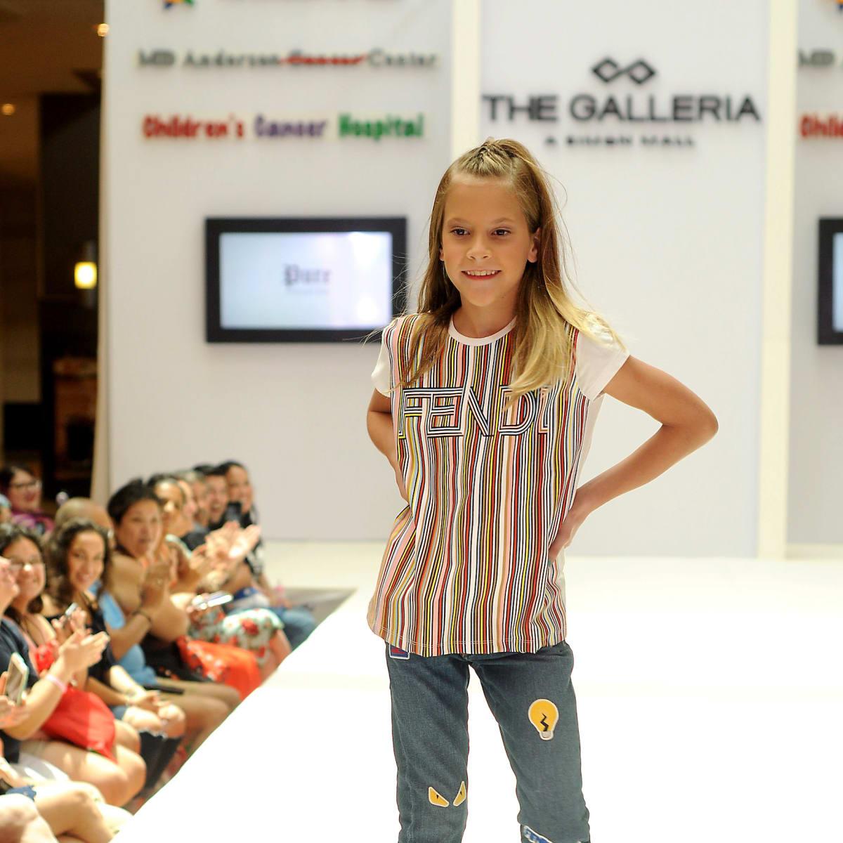 MD Anderson fashion show Gianna Kallus