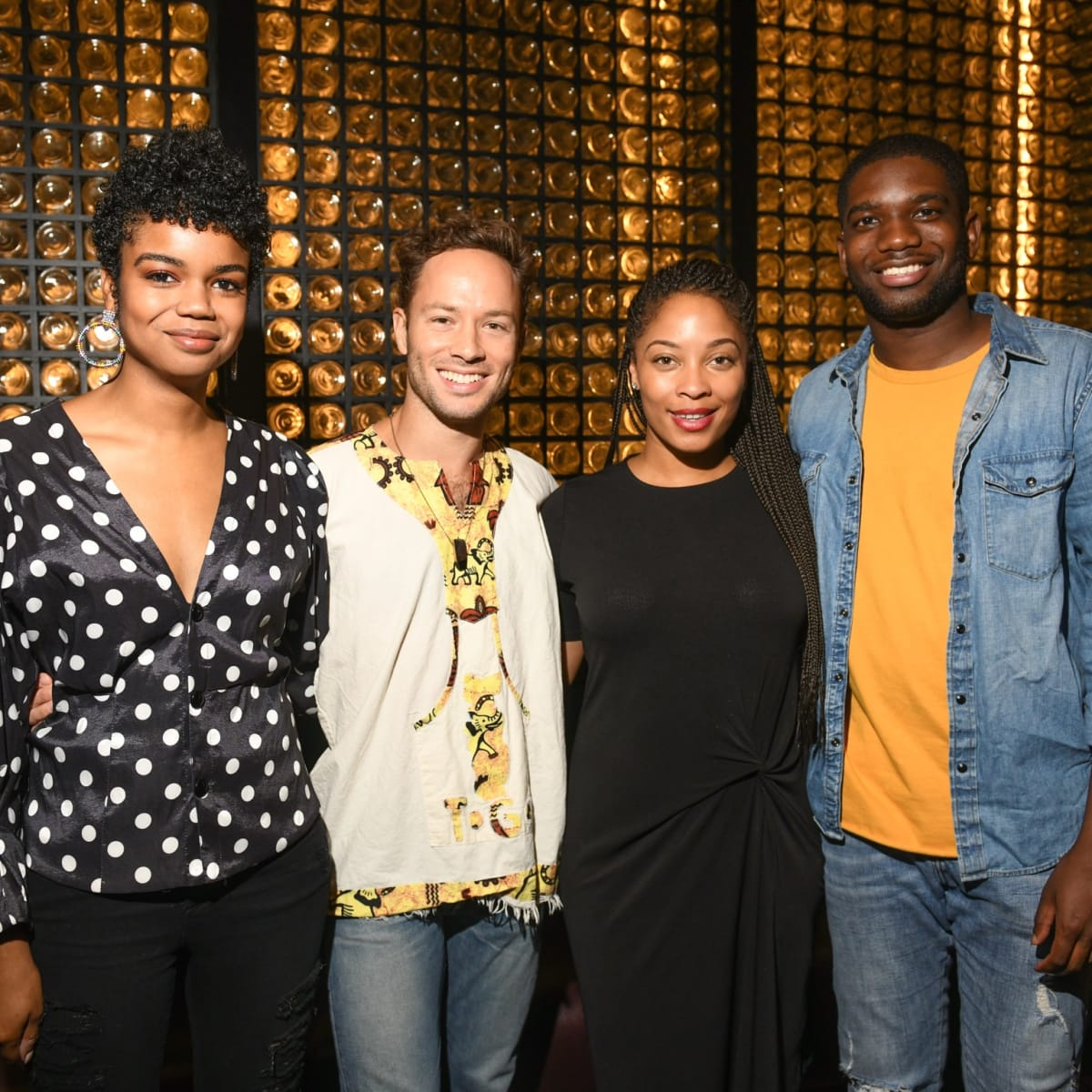 Poitin grand opening party Jailyn Marcel, Oliver Halkowich, Naja Cossey, Dominique McGhee