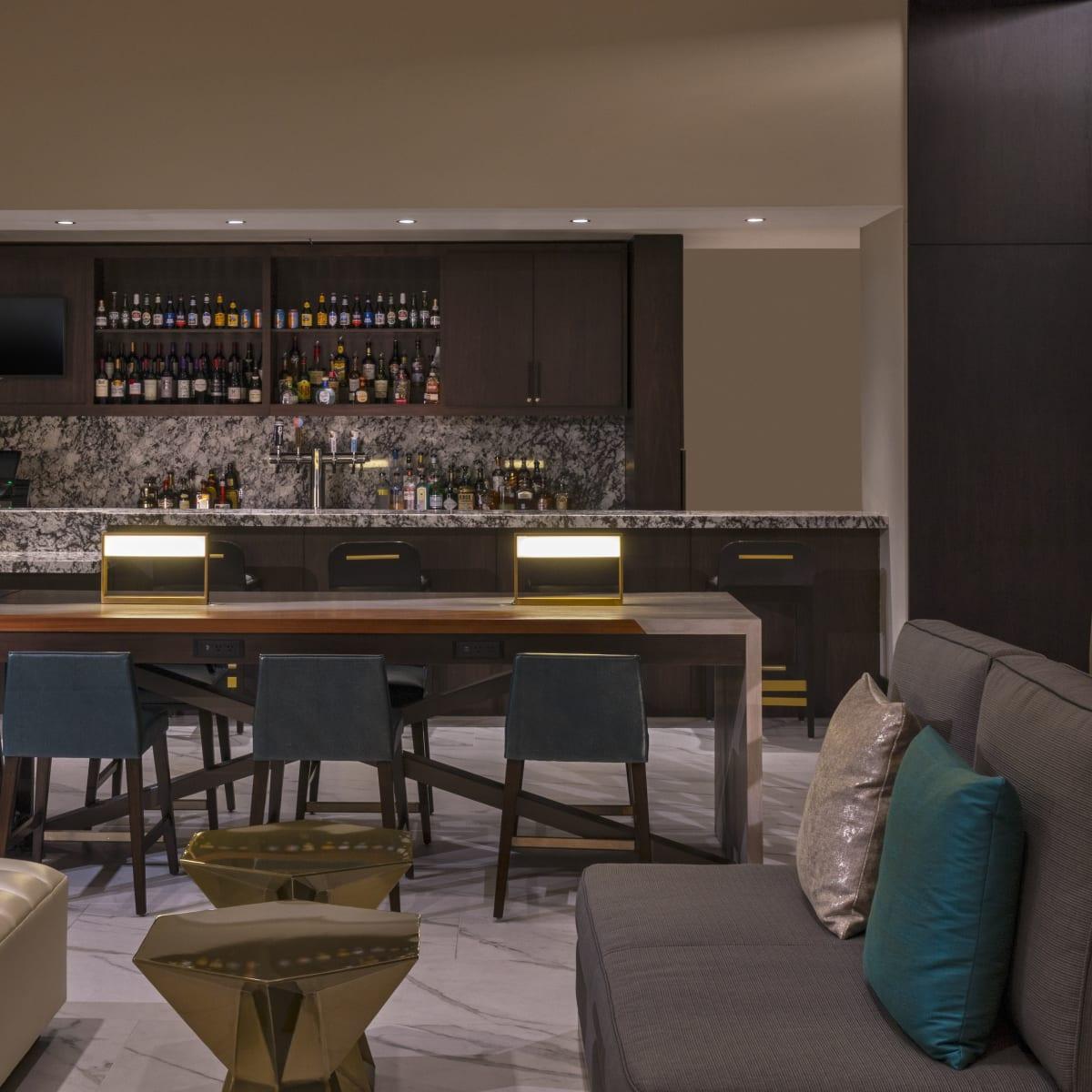 The Westin Galleria Houston lobby bar