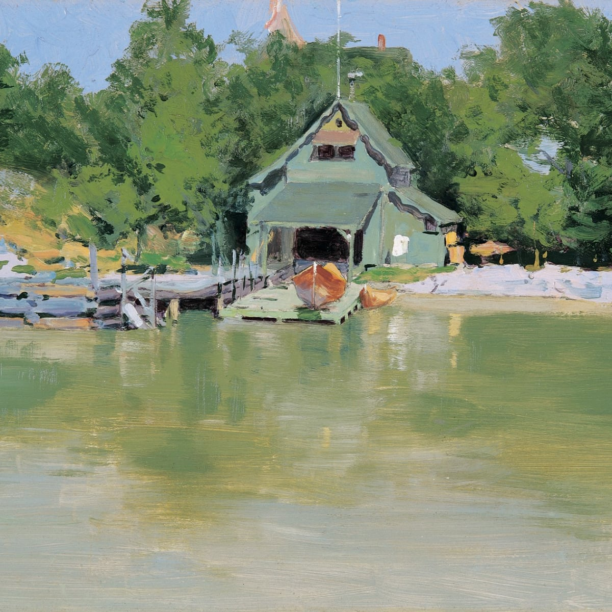 Sid Richardson Museum, Frederic Remington East, Boathouse