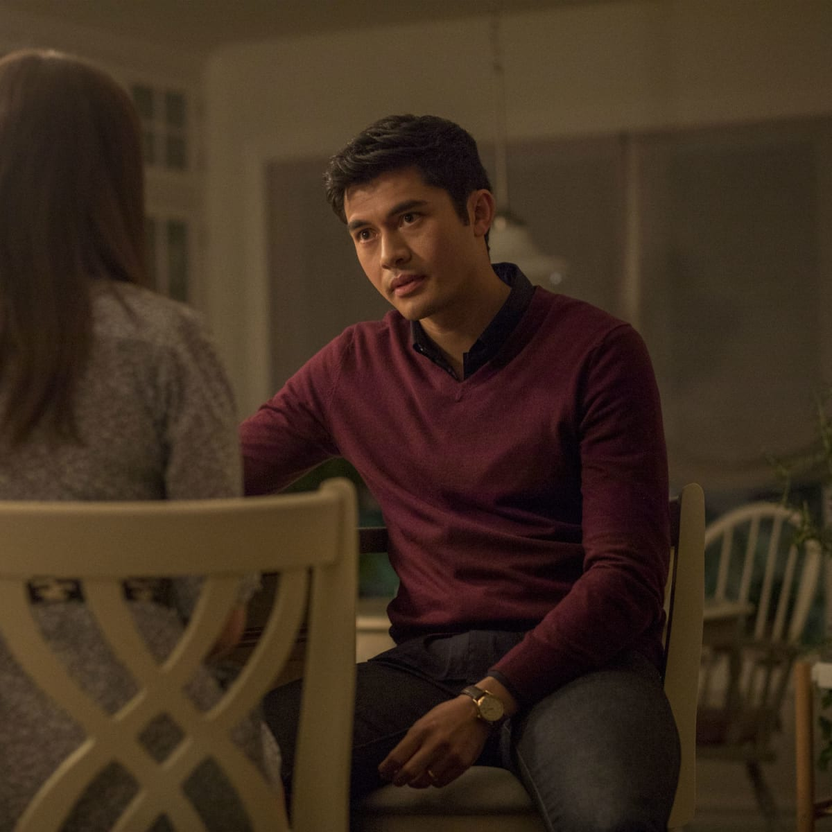 Henry Golding in A Simple Favor