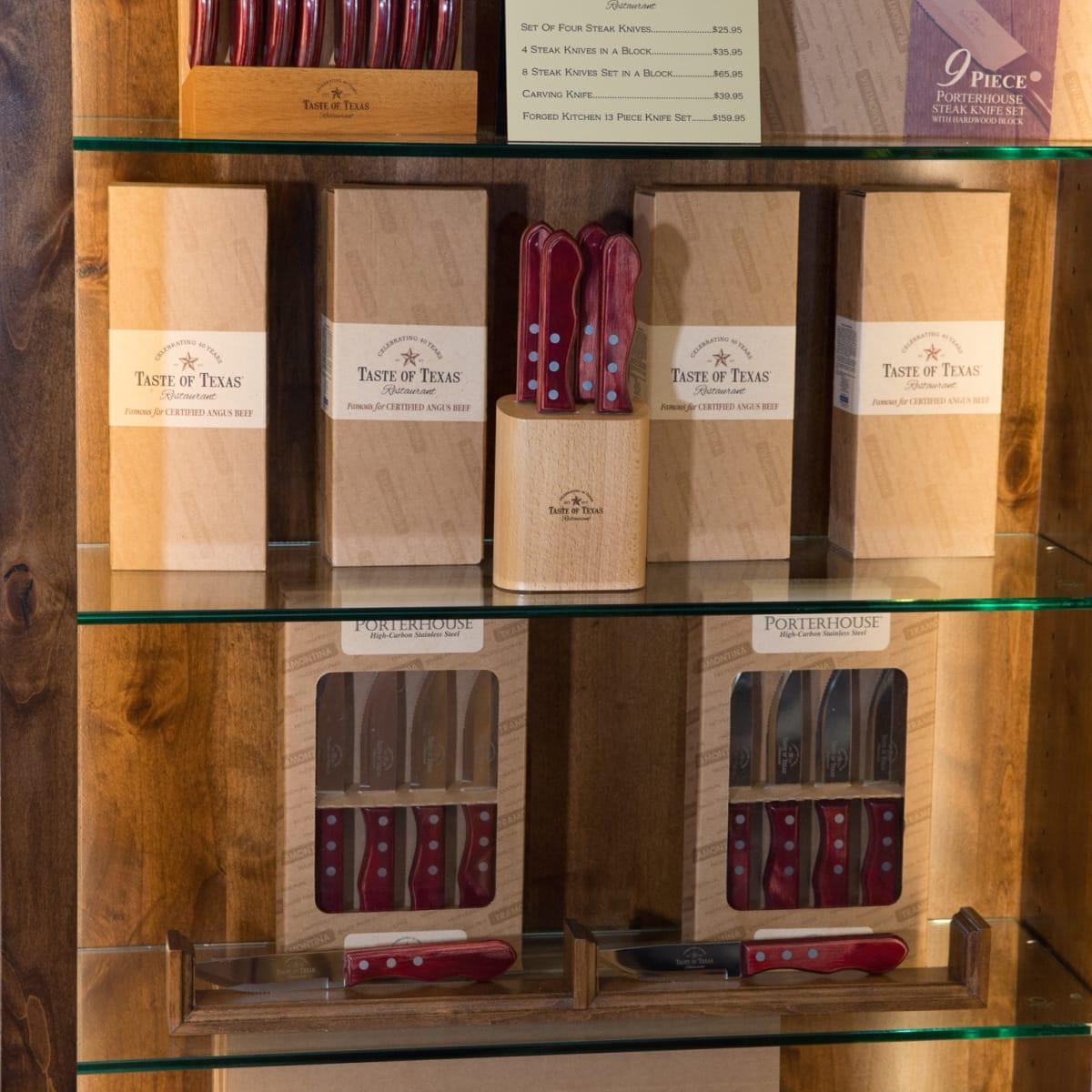 Taste of Texas gift store knives