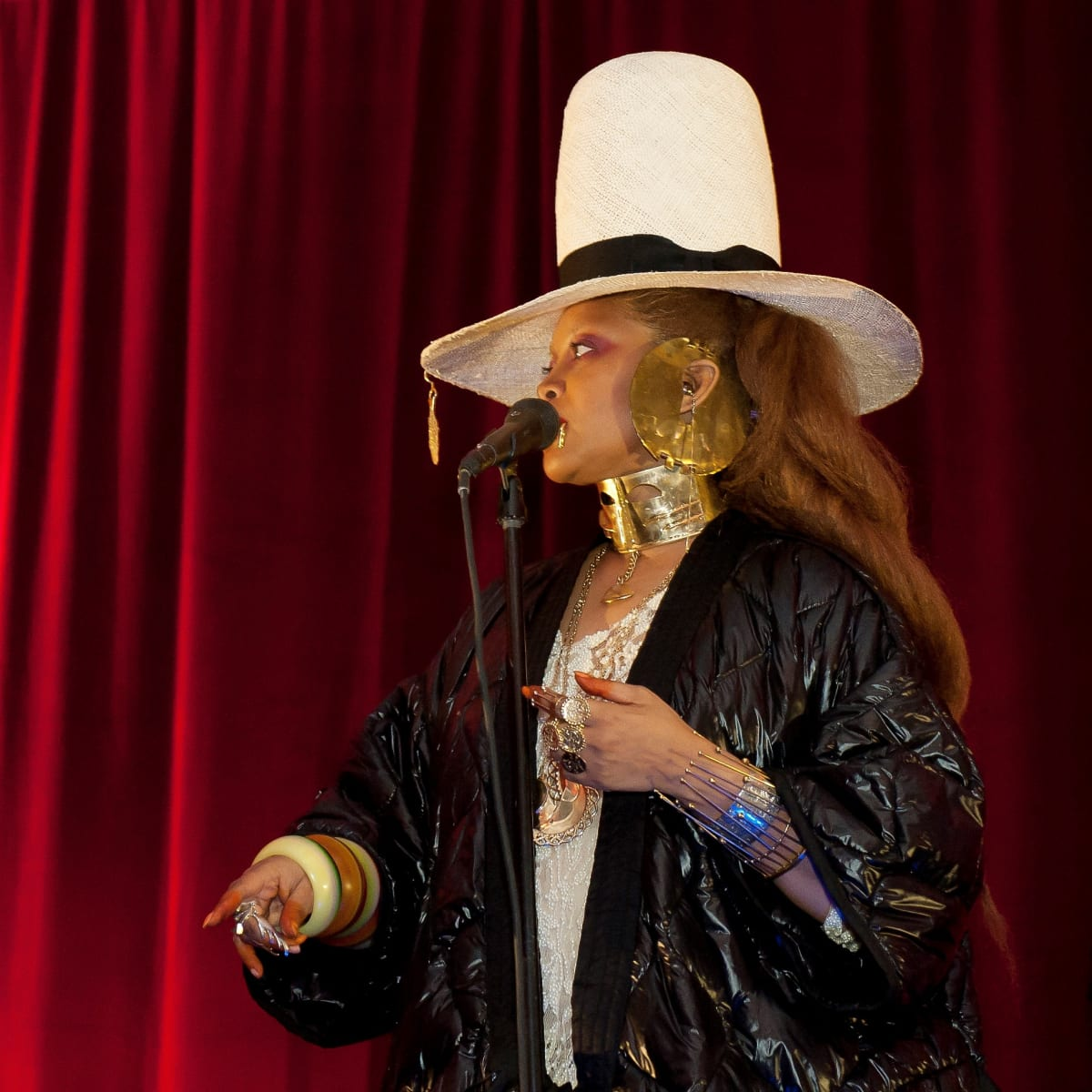 Erykah Badu, Dallas Contemporary 40th anniversary gala