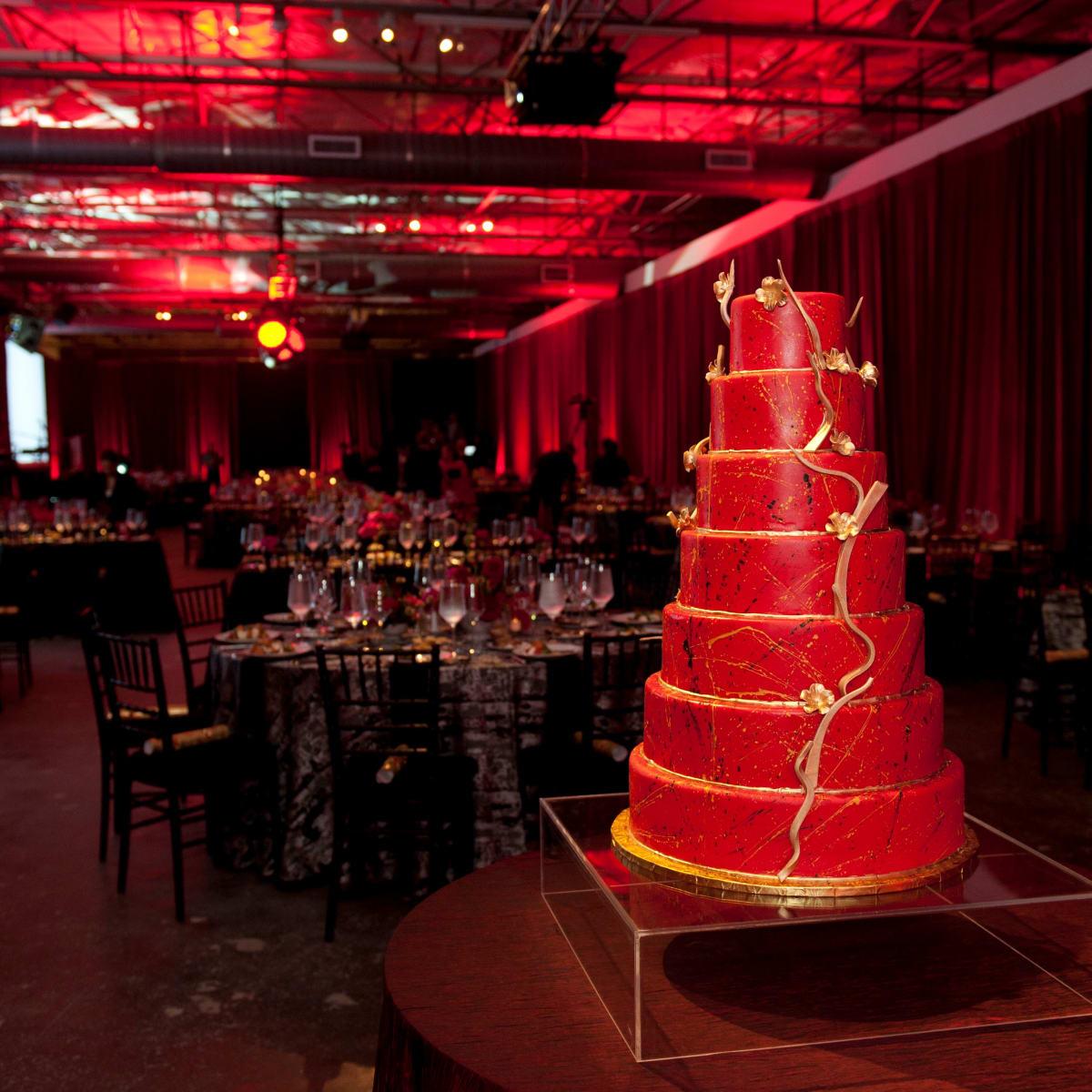 Dallas Contemporary 40 Years Cake