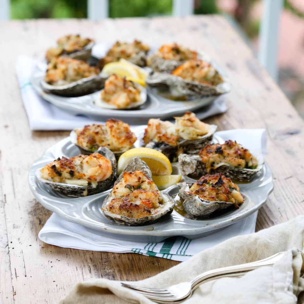 Eunice roasted oysters