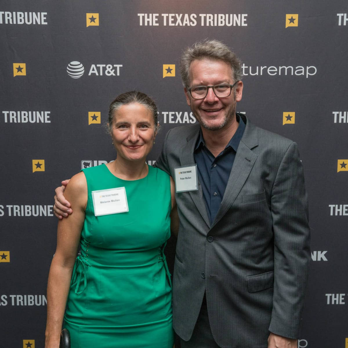 Texas Tribune Festival 2018 VIP Cocktail Hour at Brazos Hall Melanie Mullan Peter Mullan