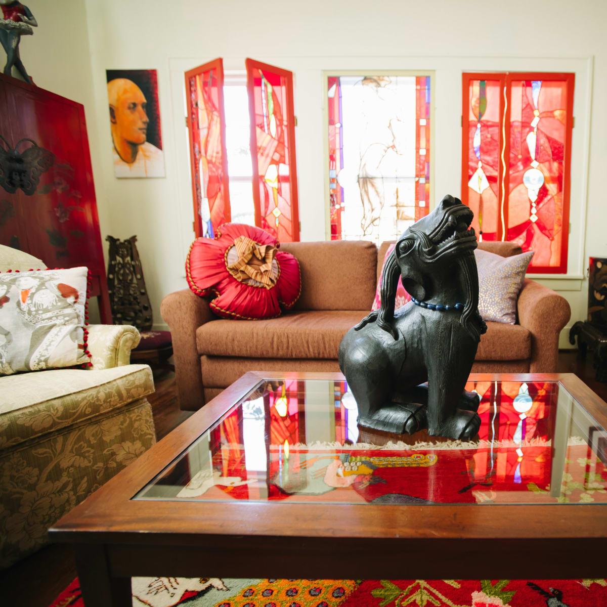 Weird Home Tour Houston The House of Luminosity - Kim Clark Renteria