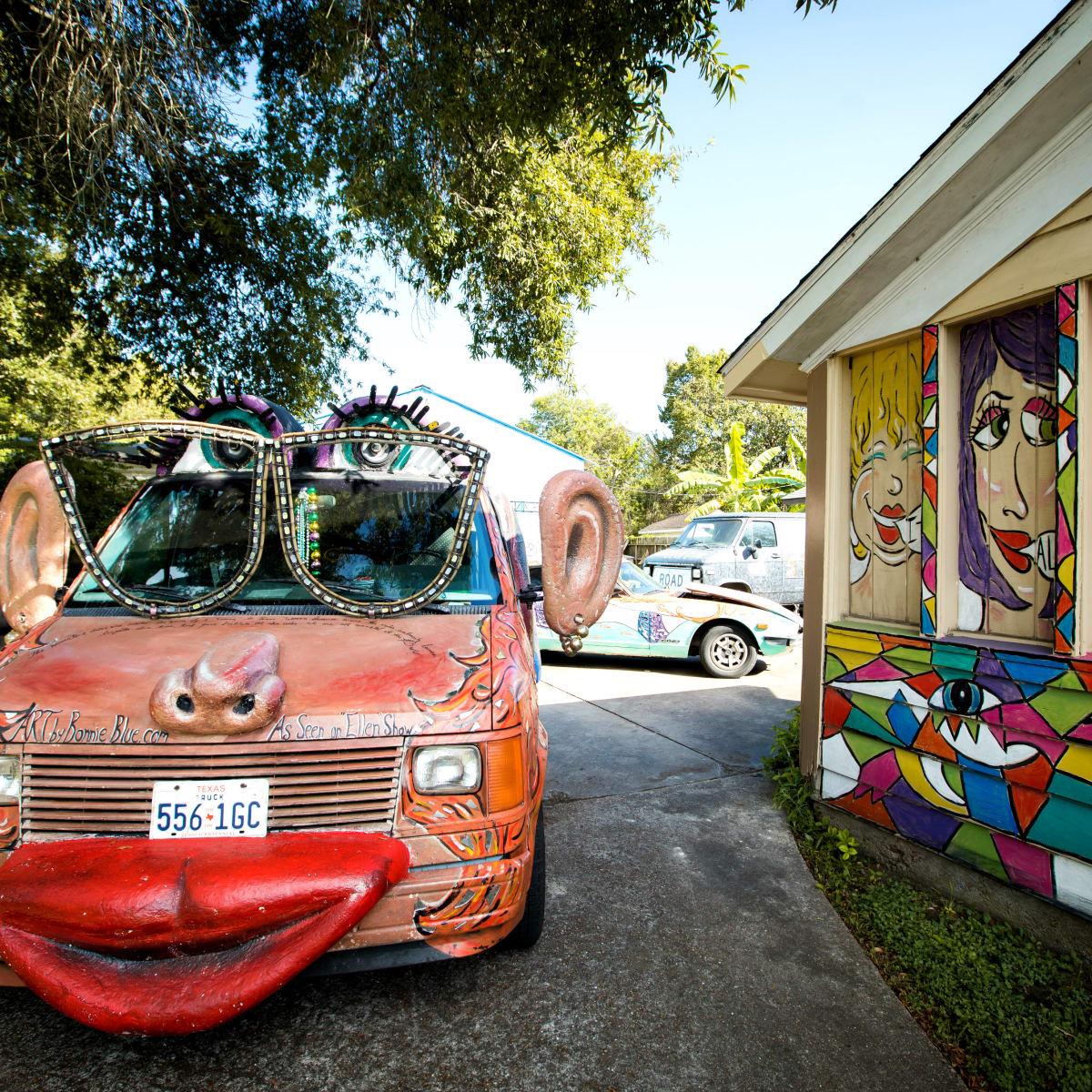 Weird Home Tour Houston
