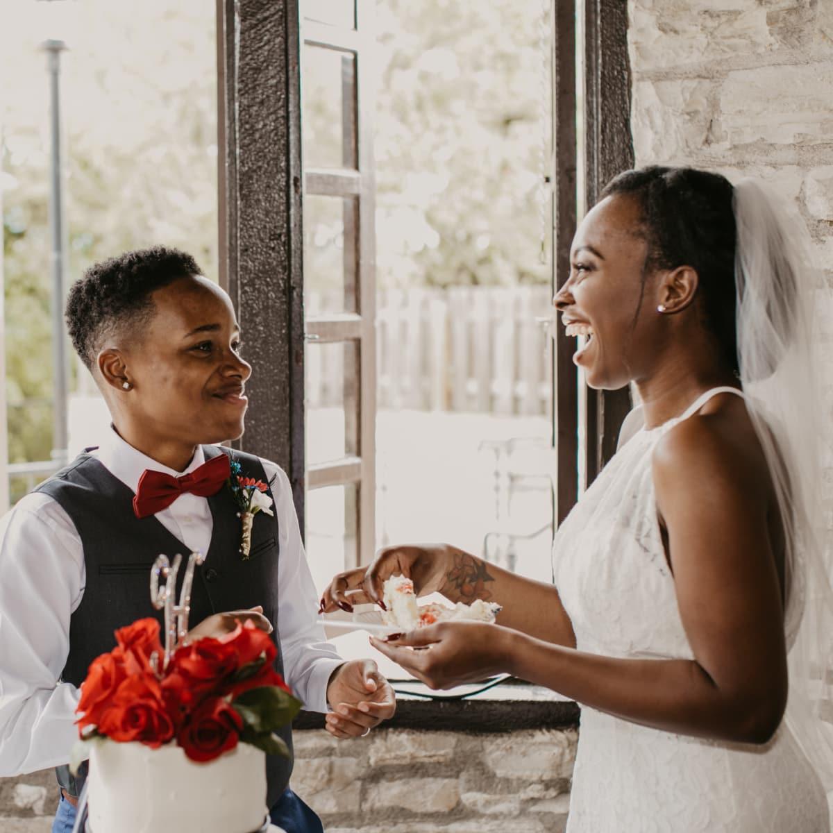 Jazmine Henderson and Shantel Woods wedding
