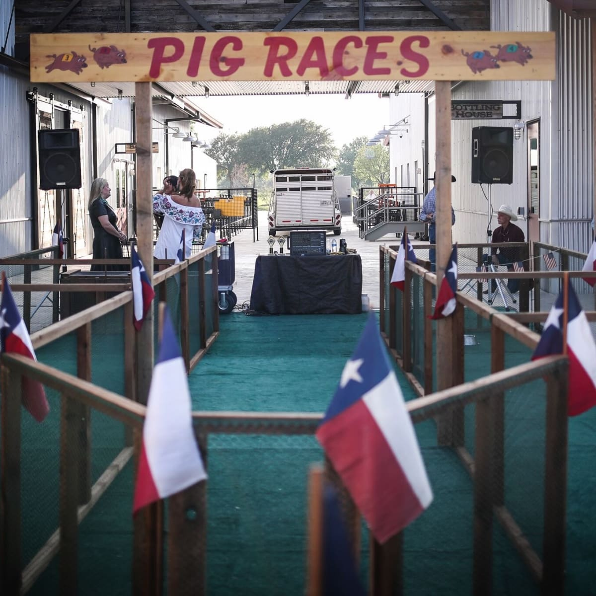 Pig Races, Cowtown Ball