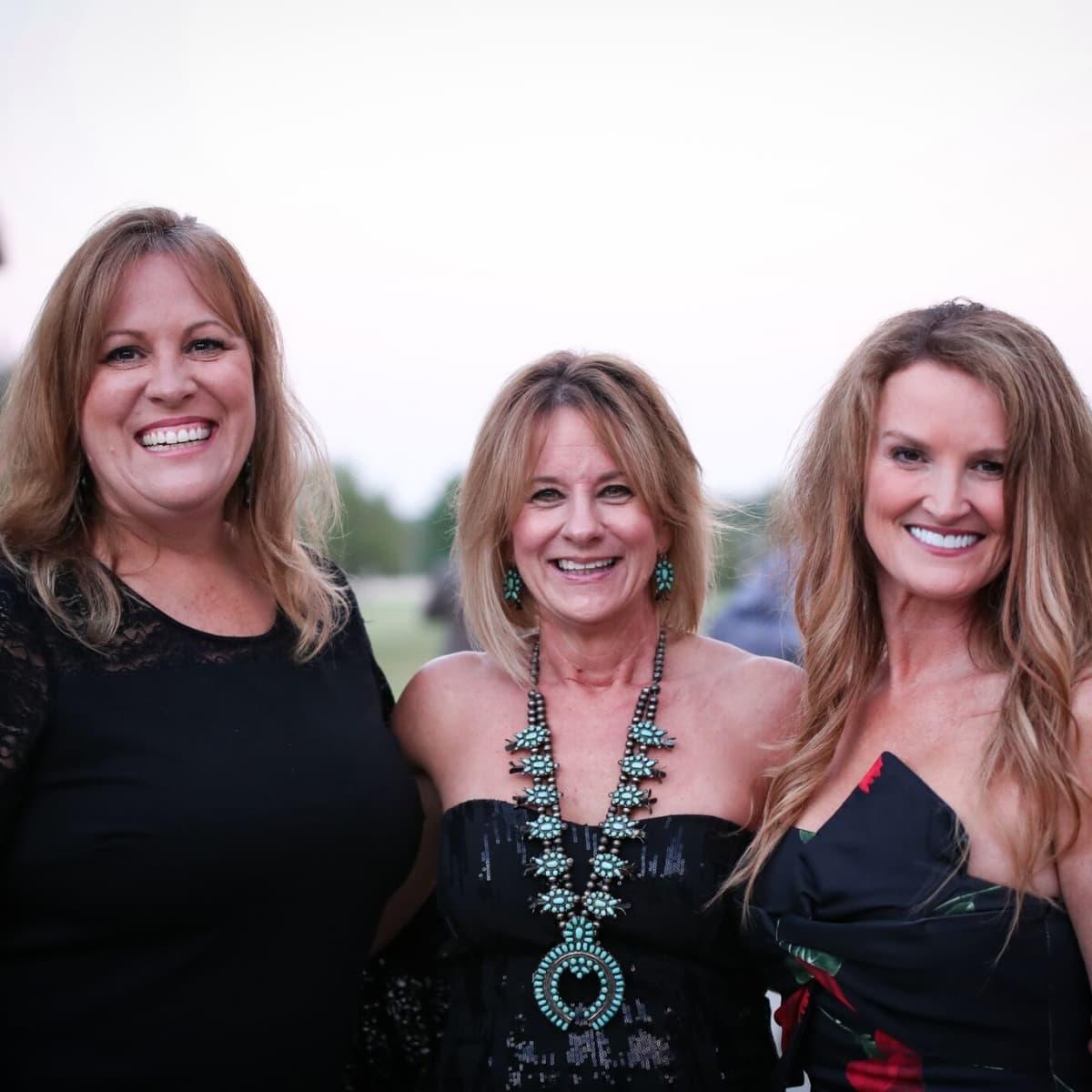 Loretta Marable, Jennifer Fornes, Kim Johnson