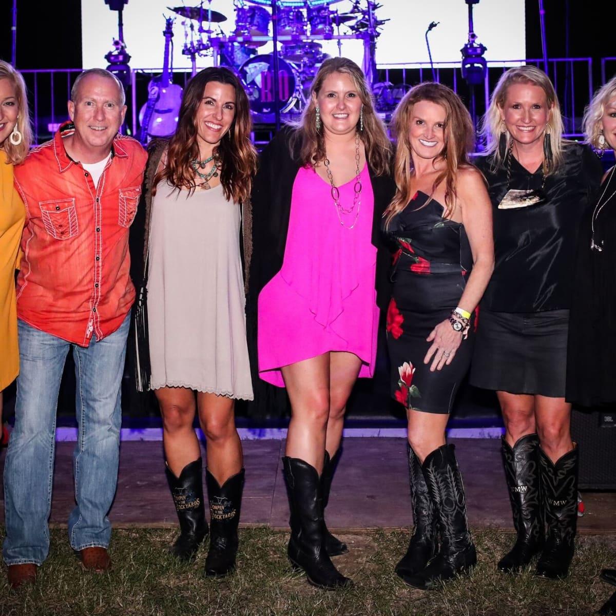 Elizabeth Humble, Jeff Deets, Carla Collins, Cortney Craft, Kim Johnson, Wendy Wright, Jennifer William, Cowtown Ball
