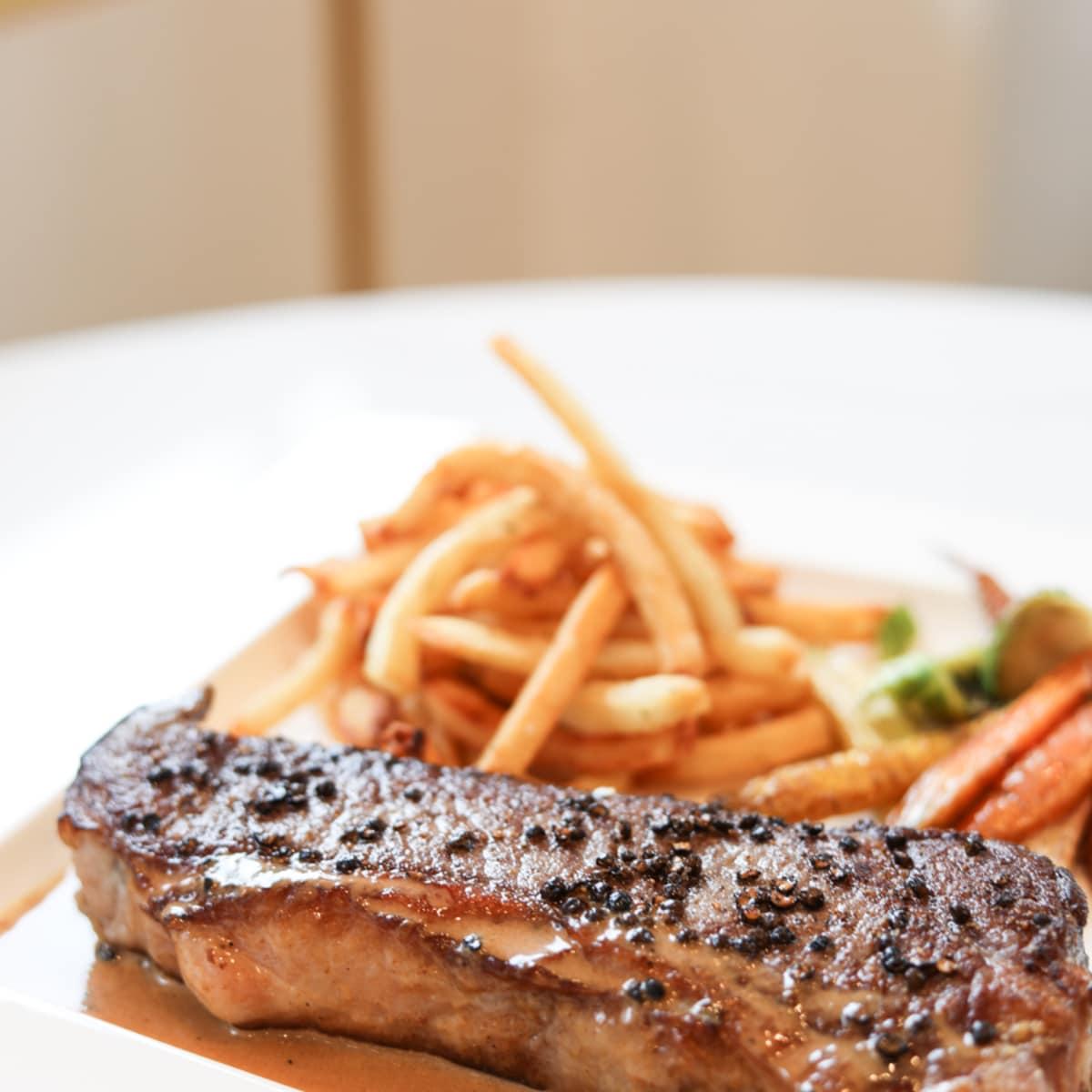 Bisou steak au poivre