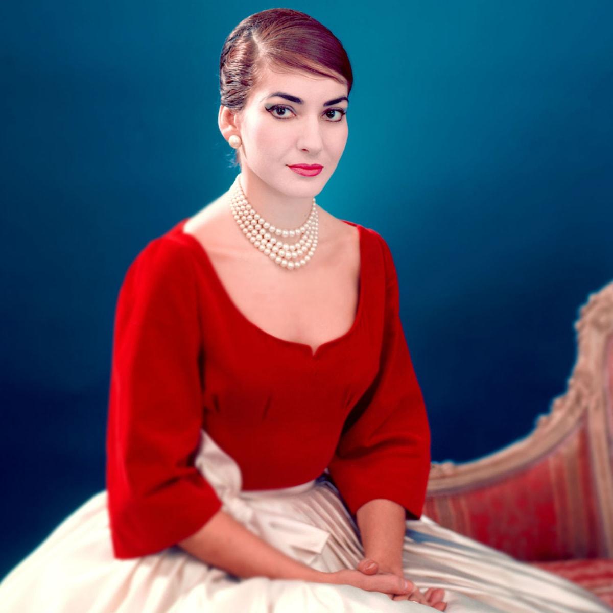 Maria Callas in Maria by Callas