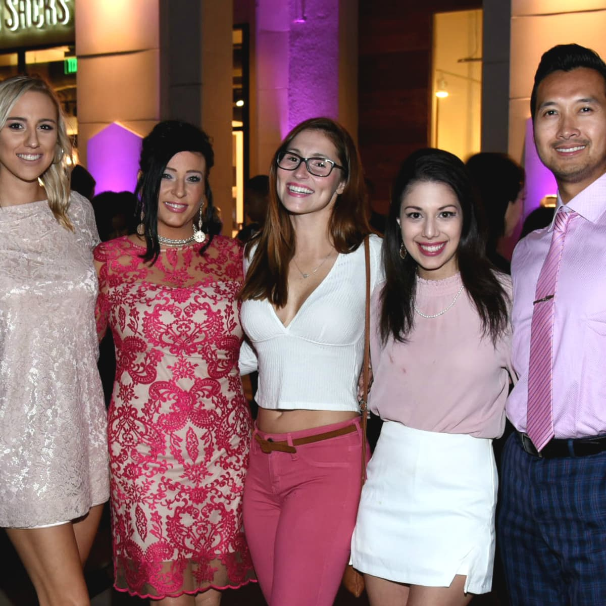 Think Pink Party West Ave Arrive