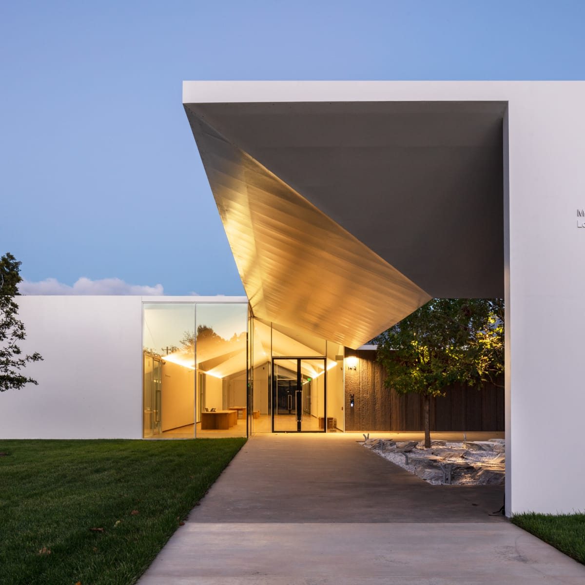Menil Drawing Institute, entrance